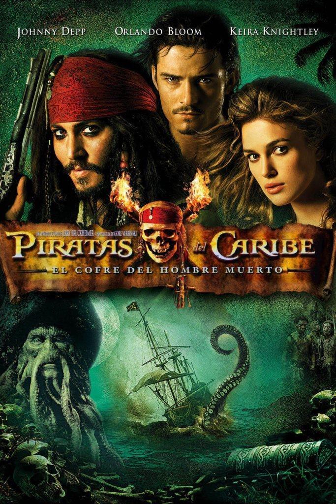 Piratas del Caribe 2: El cofre del hombre muerto (2006) HD 1080p Latino