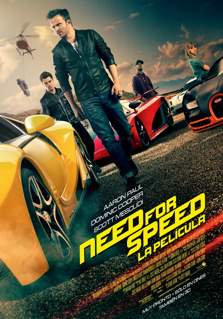 Need for Speed (2014) HD 1080p Latino