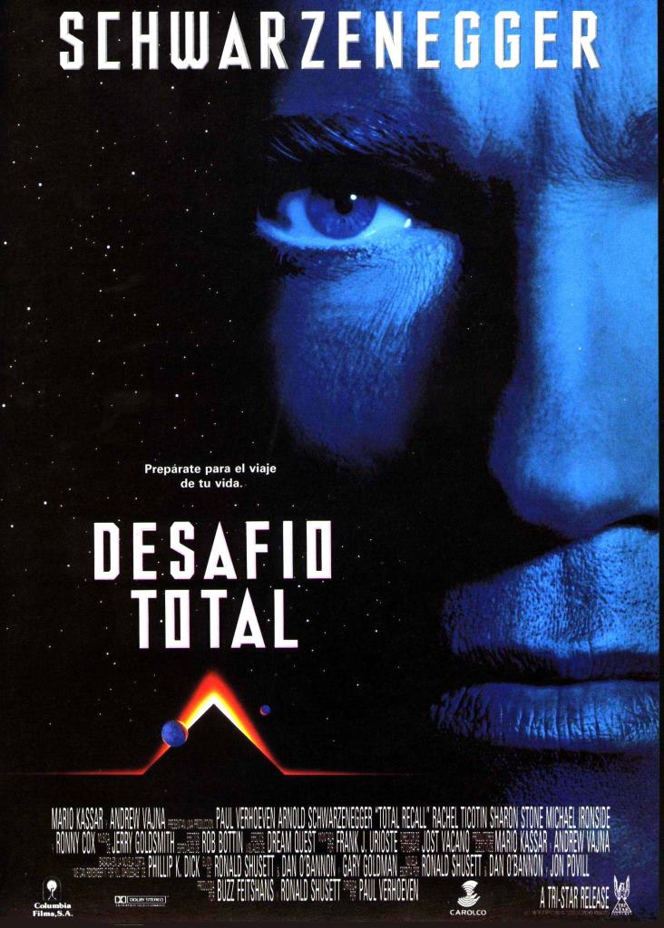 Desafío total (1990) HD 1080p Latino