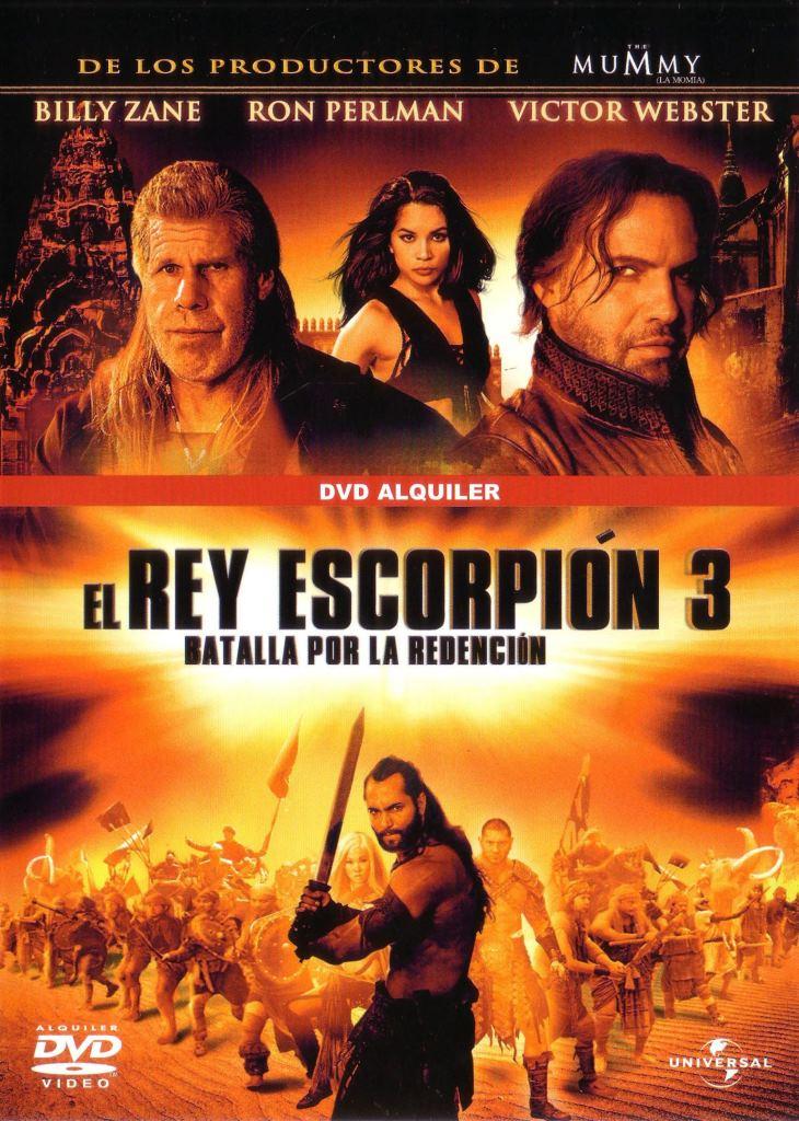 El rey escorpión 3: Batalla por la redención (2012) HD 1080p Latino