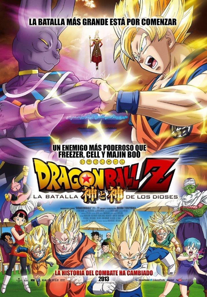 Dragon Ball Z: La batalla de los dioses (2013) HD 1080p Latino