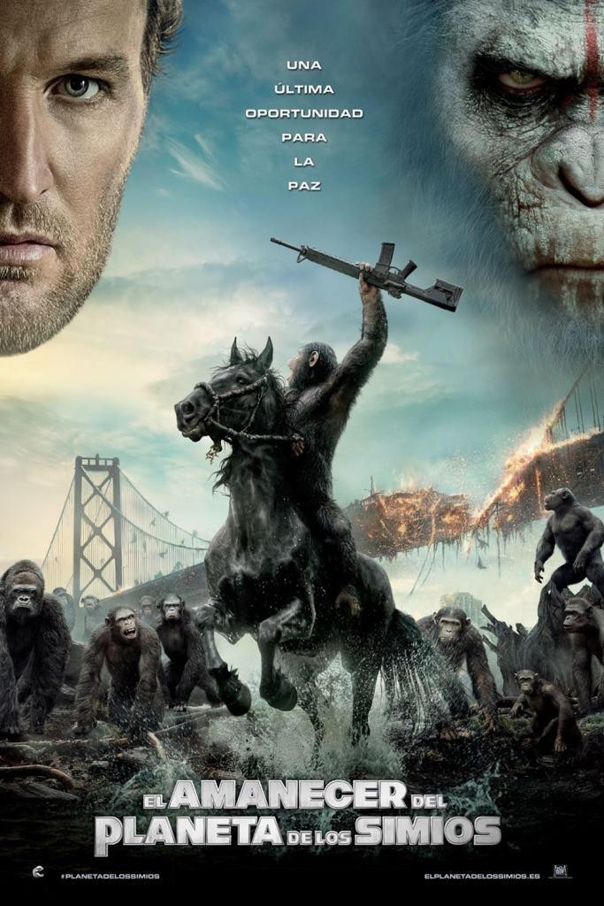 El amanecer del planeta de los simios (2014) HD 1080p Latino