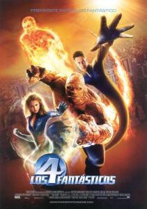 Los 4 fantásticos (2005) HD 1080p Latino