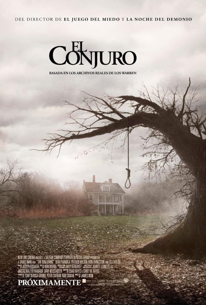 Expediente Warren: El conjuro (2013) HD 1080p Latino
