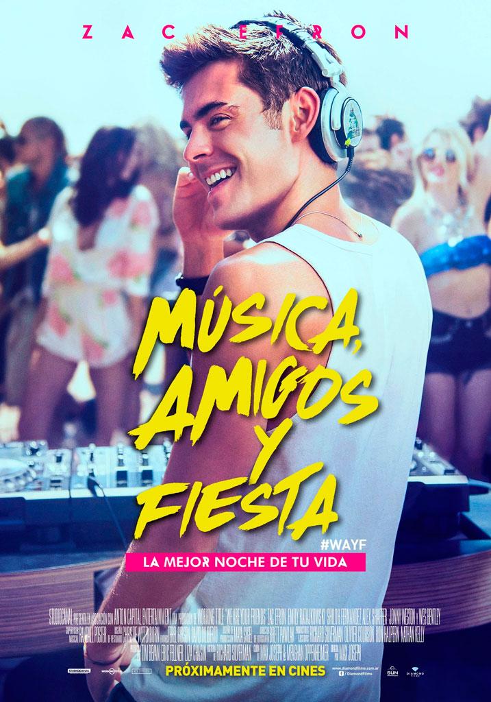 Música, Amigos y Fiesta (2015) HD 1080p Latino