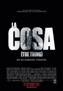 La cosa (The Thing) (2011) HD 1080p Latino