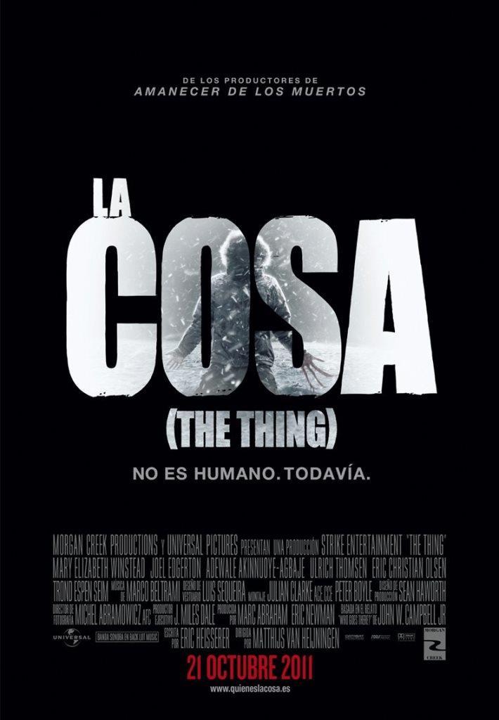 La cosa (The Thing) (2011) HD 1080p Latino