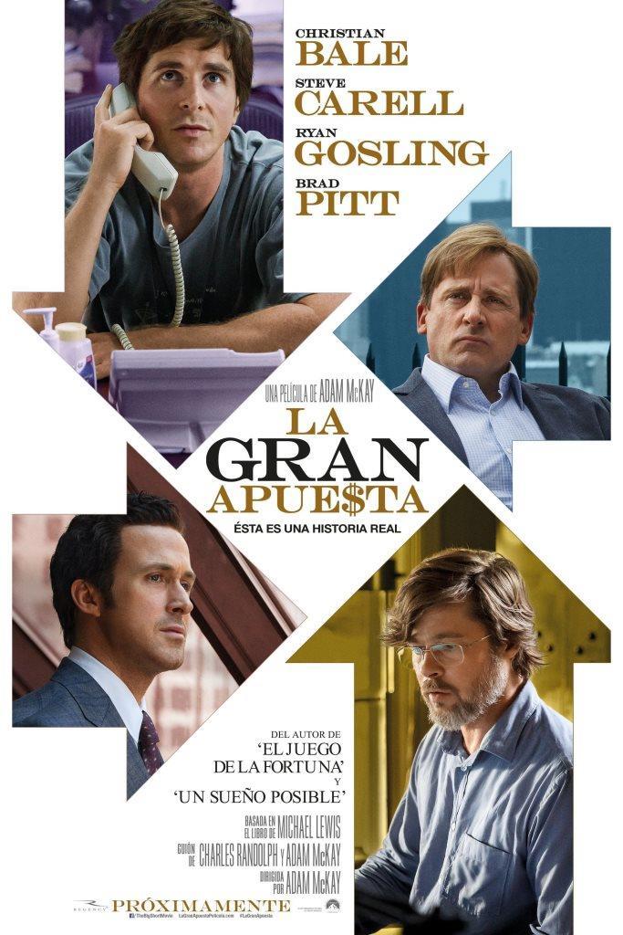 La gran apuesta (2015) HD 1080p Latino