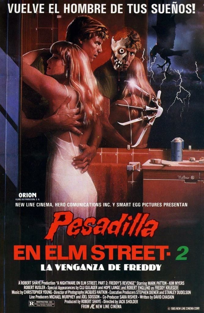 Pesadilla en Elm Street 2: La venganza de Freddy (1985) HD 1080p Latino