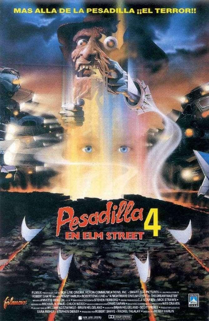 Pesadilla en la calle del infierno 4: El amo del sueño (1988) HD 1080p Latino