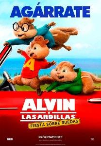 Alvin y las ardillas 4: Fiesta sobre ruedas (2015) HD 1080p Latino