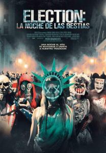 Election: La noche de las bestias (2016) HD 1080p Latino