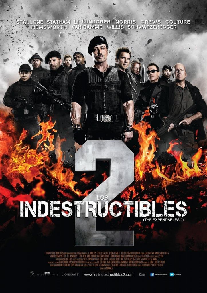 Los indestructibles 2 (2012) HD 1080p Latino