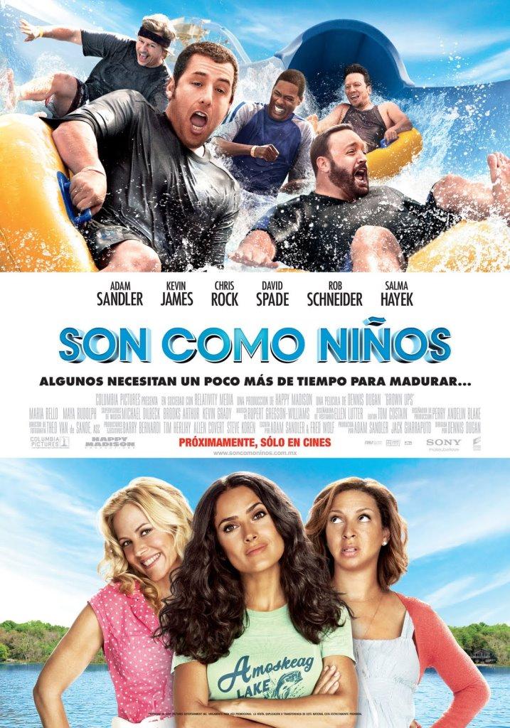Son como niños (2010) HD 1080p Latino