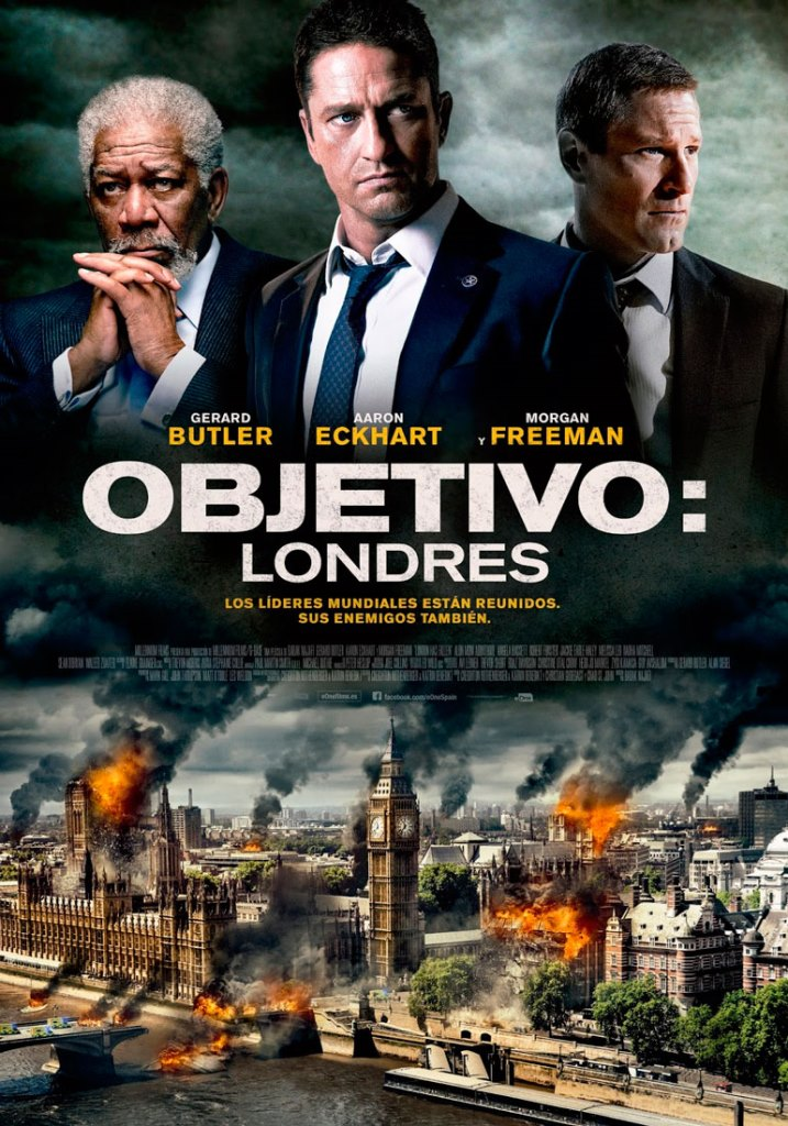 Objetivo: Londres (2016) HD 1080p Latino