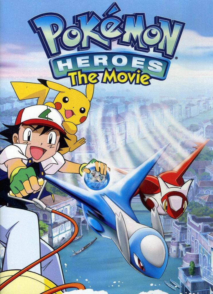 Pokémon 5: Héroes Pokémon: Latios y Latias (2002) DVD-Rip Latino