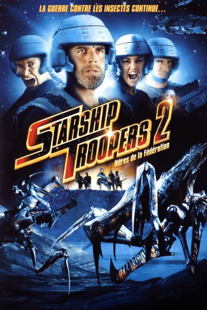 Starship Troopers 2: El héroe de la federación (2004) HD 1080p Latino