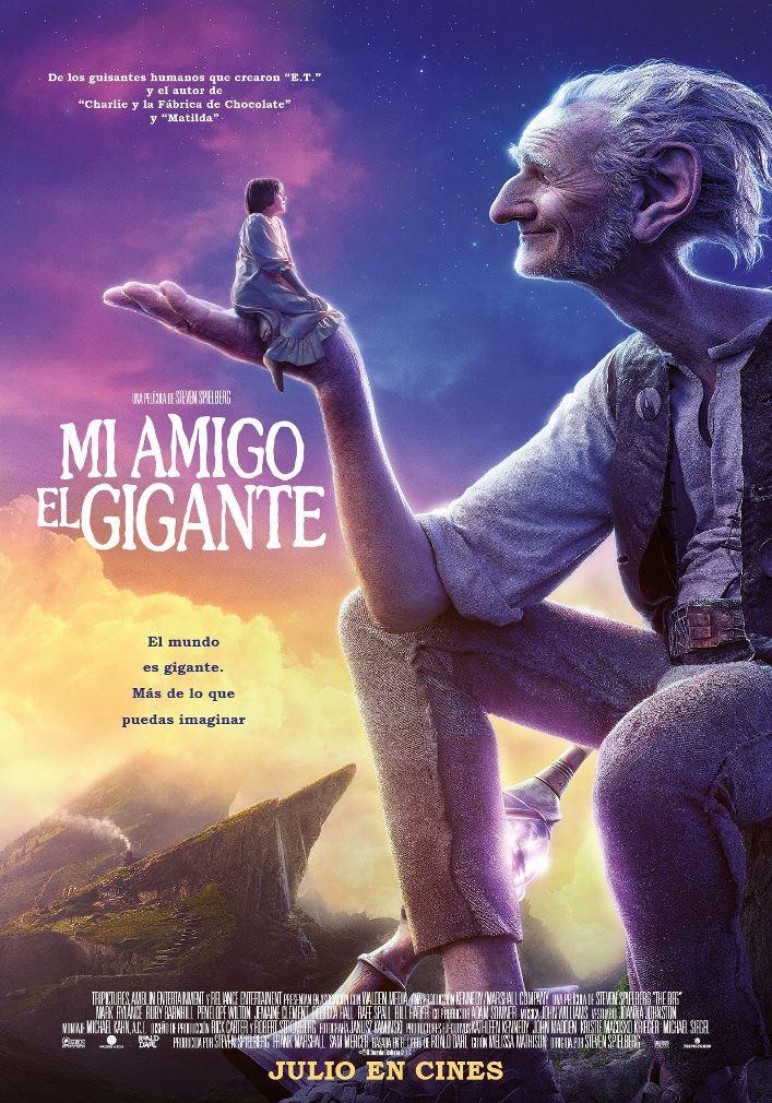 Mi amigo el gigante (2016) HD 1080p Latino