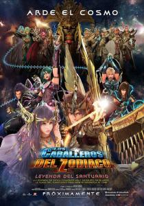 Los Caballeros del Zodíaco: La leyenda del Santuario (2014) HD 1080p Latino