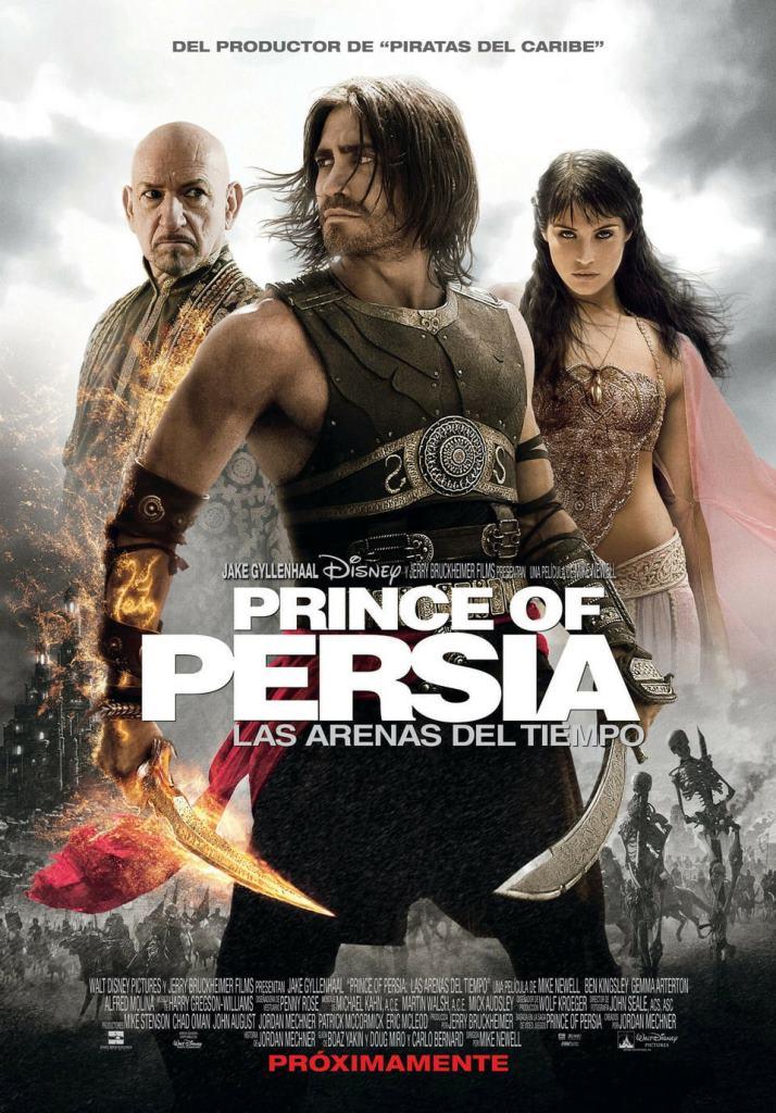 Prince of Persia: Las arenas del tiempo (2010) HD 1080p Latino