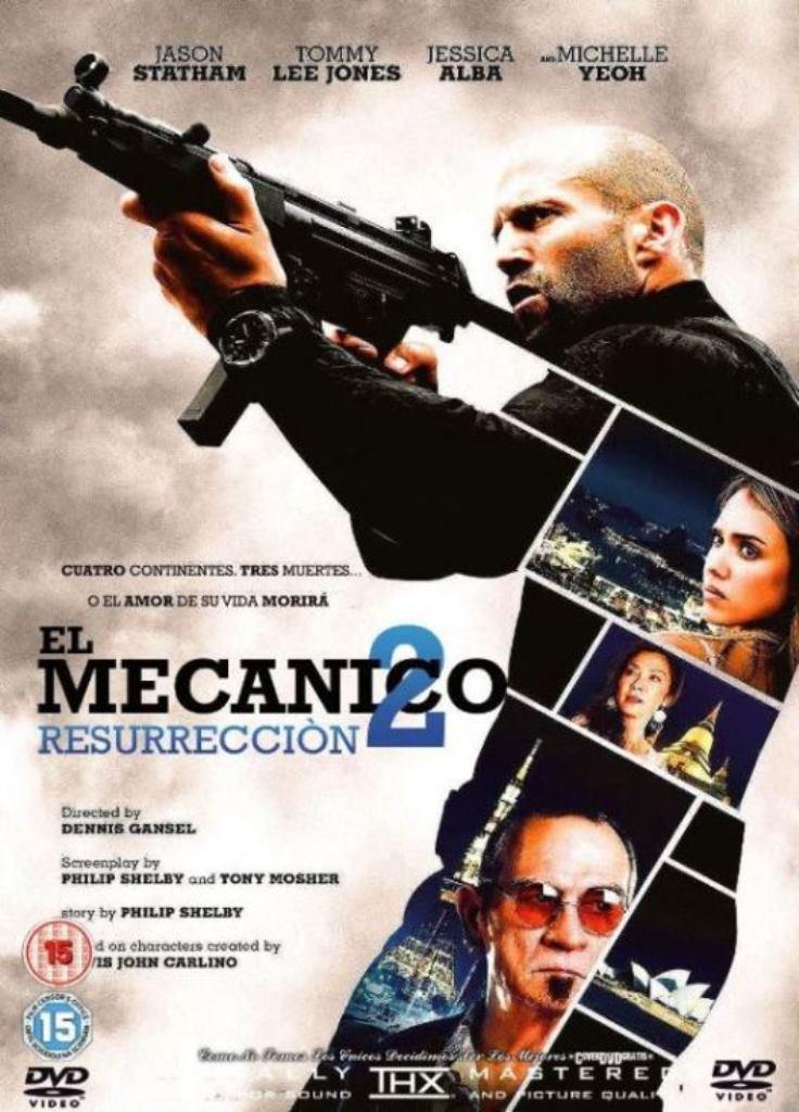 El mecánico 2: Resurrección (2016) HD 1080p Latino