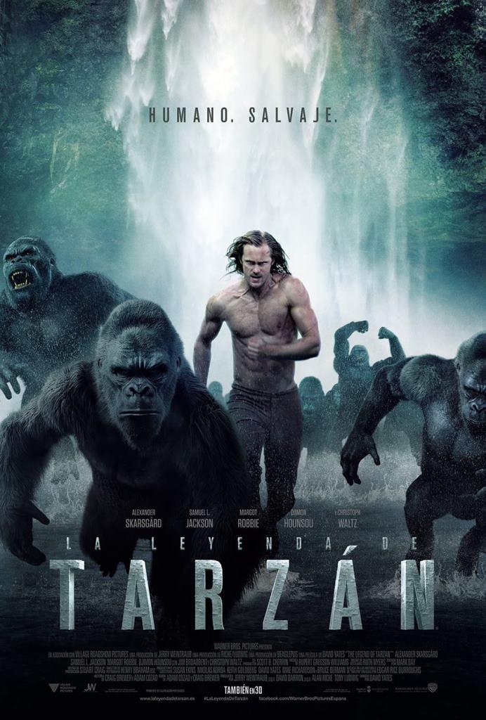La leyenda de Tarzán (2016) HD 1080p Latino
