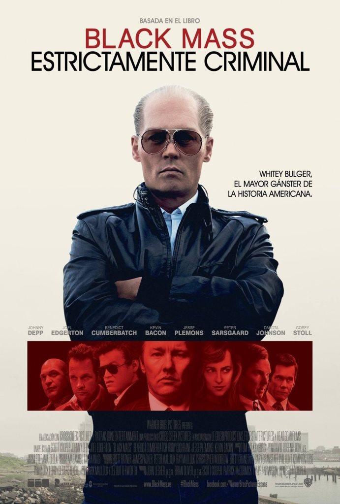 Black Mass: Estrictamente criminal (2015) HD 1080p Latino