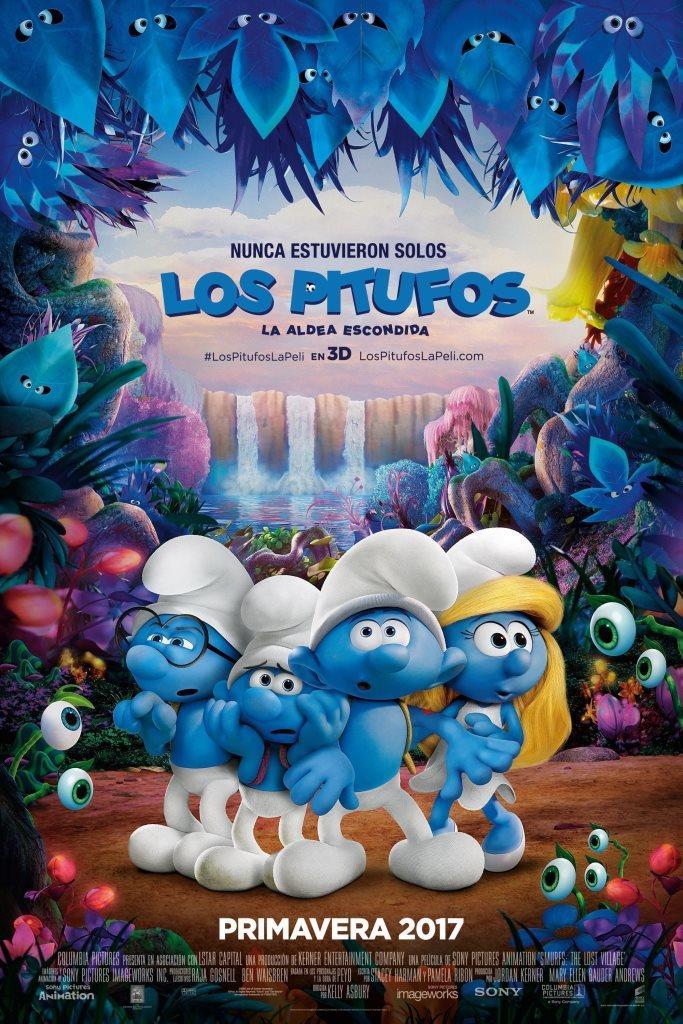 Los Pitufos: La aldea escondida (2017) HD 1080p Latino