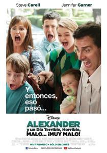 Alexander y un día terrible, horrible, malo… ¡muy malo! (2014) HD 1080p Latino