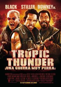 Tropic Thunder, ¡una guerra muy perra!