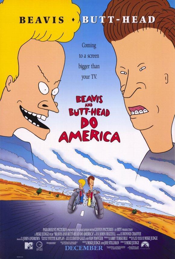 Beavis y Butt-Head recorren America