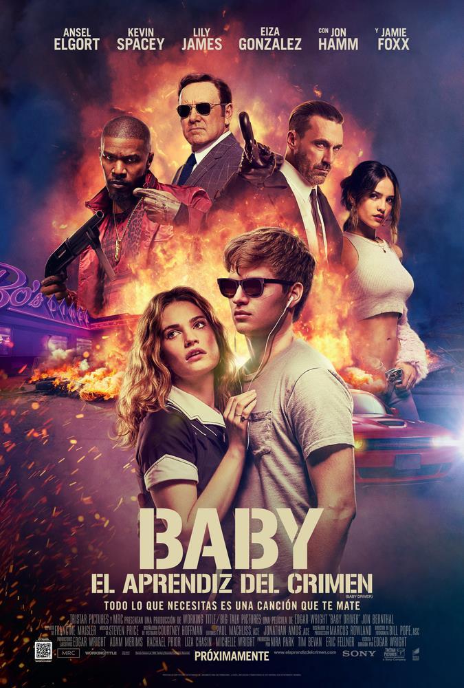 Baby: El aprendiz del crimen (2017) HD 1080p Latino