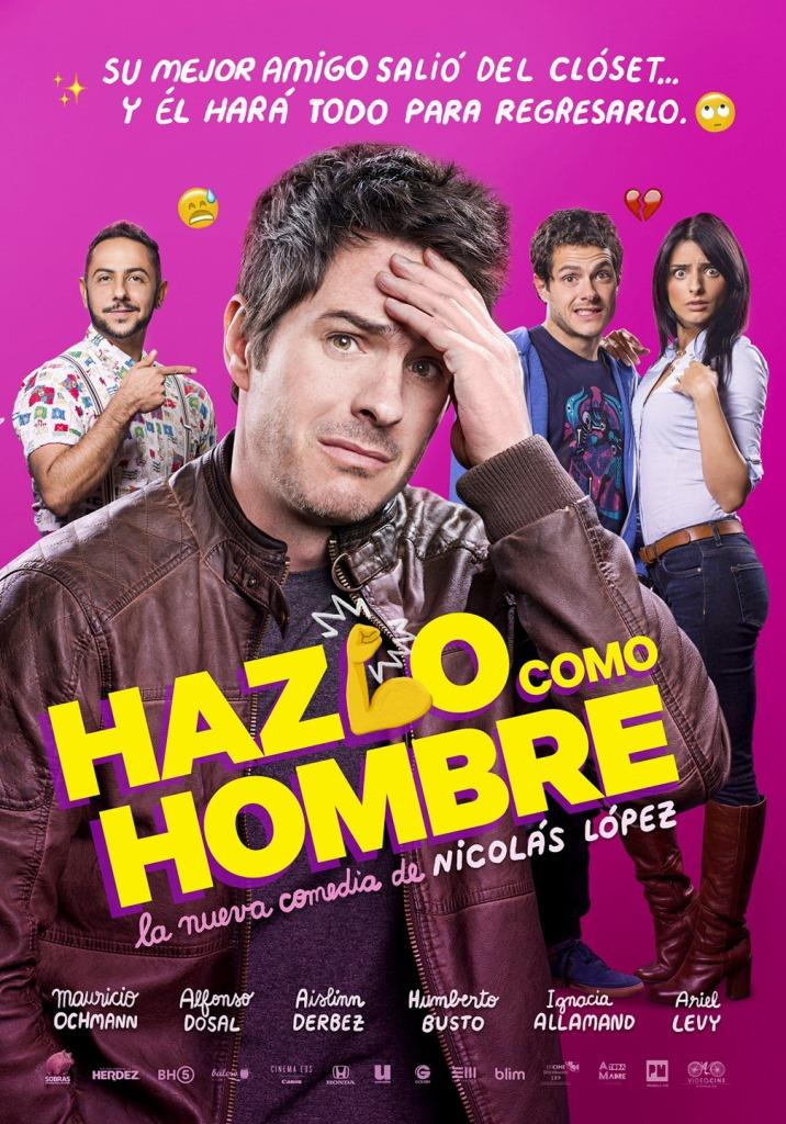 Hazlo como hombre (2017) HD 1080p Latino
