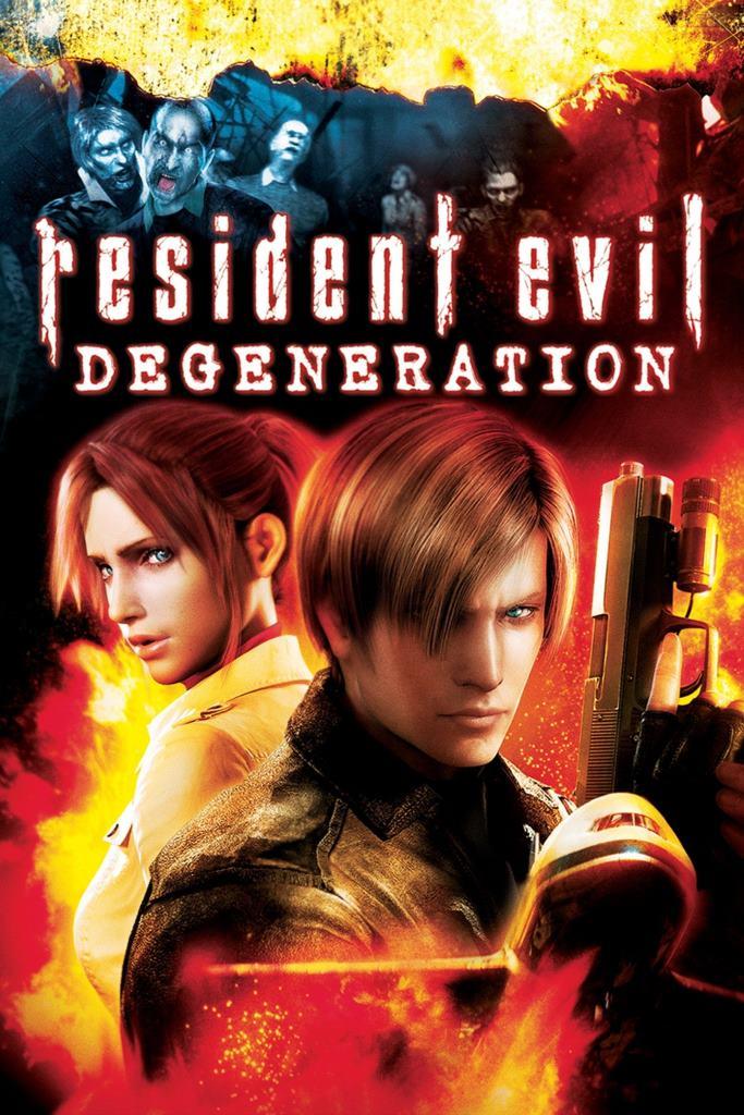 Resident Evil: Degeneración (2008) HD 1080p Latino