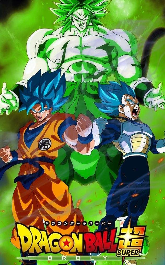 Dragon Ball Super: Broly (2018) HD 720p Latino