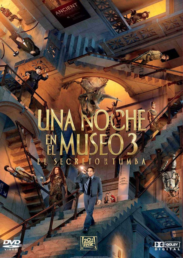 Noche en el museo 3: El secreto del faraón (2014) BDRIP 1080p Latino