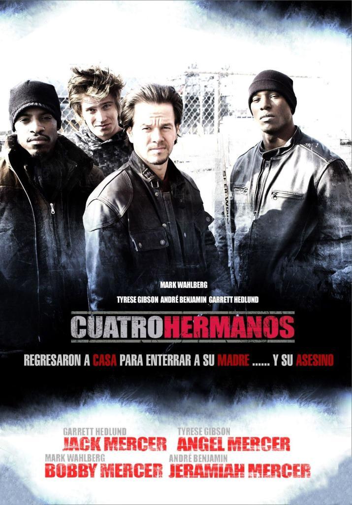 Cuatro hermanos (2005) HD 1080p Latino