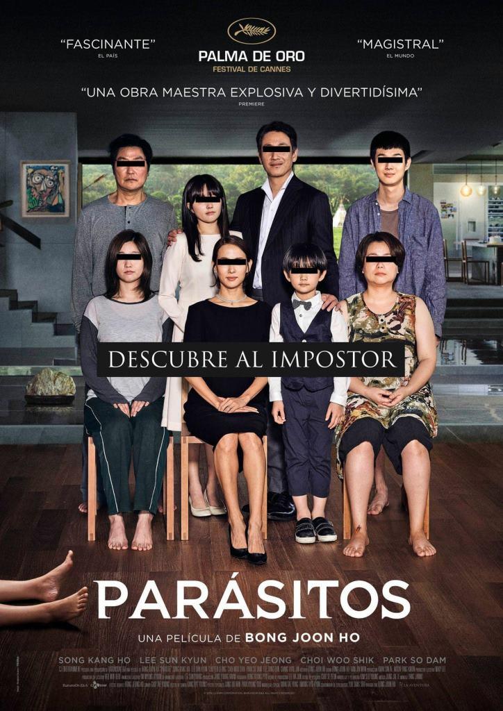 Parásitos (2019) HD 1080p Subtitulado