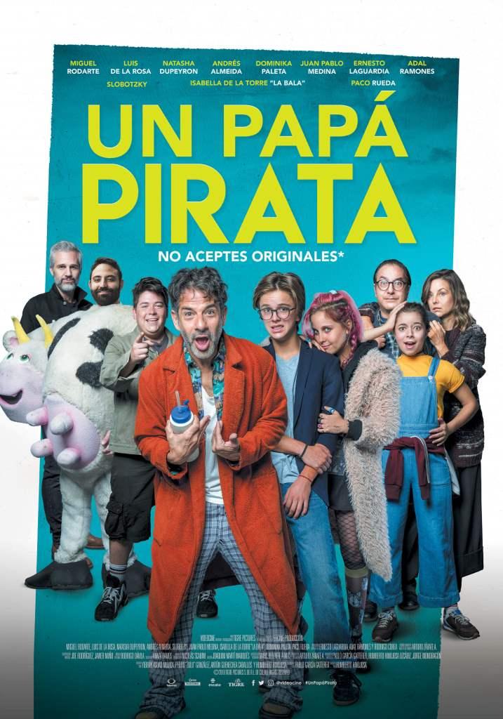 Un Papá pirata (2019) HD 1080p Latino