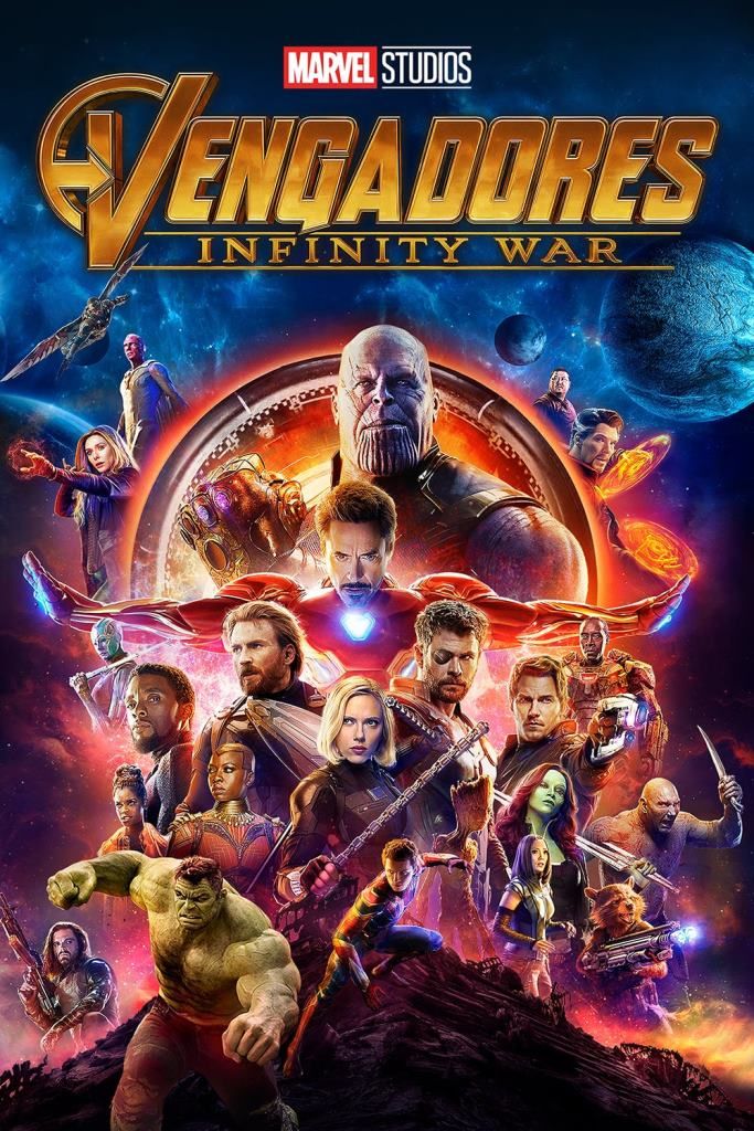 Vengadores 3: Infinity War (2018) HD 1080p Latino