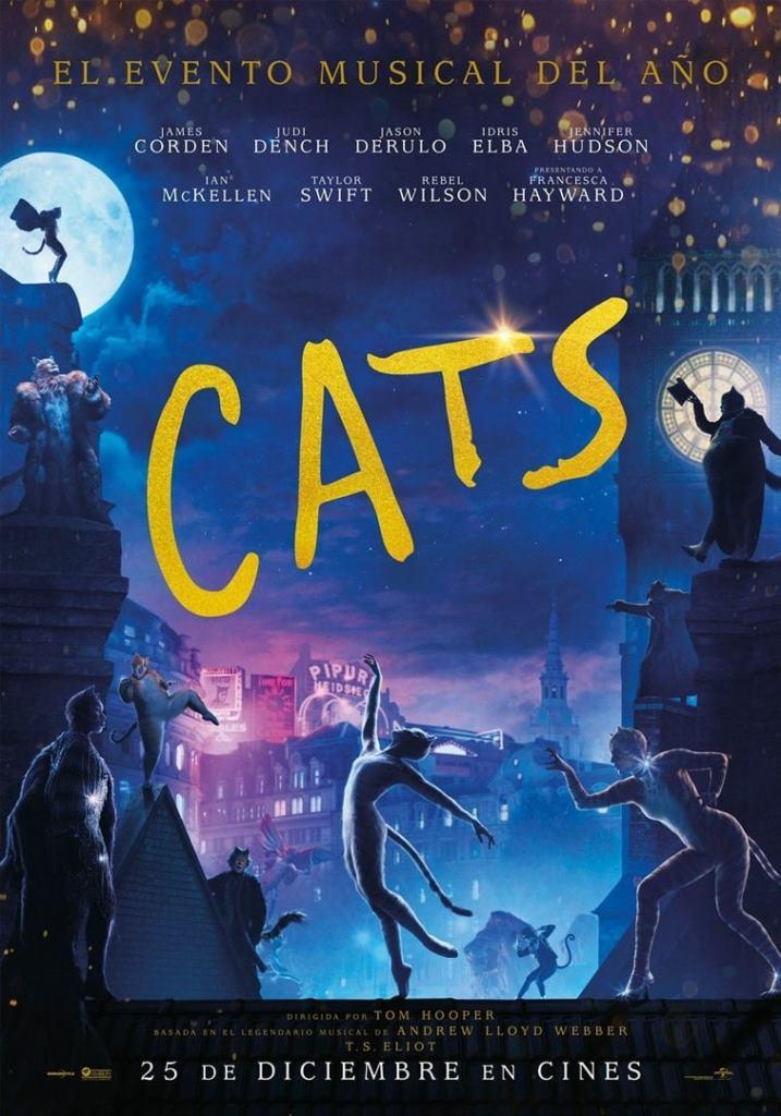 Cats (2019) HD 1080p Latino