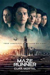 Maze Runner 3: La cura mortal (2018) HD 1080p Latino