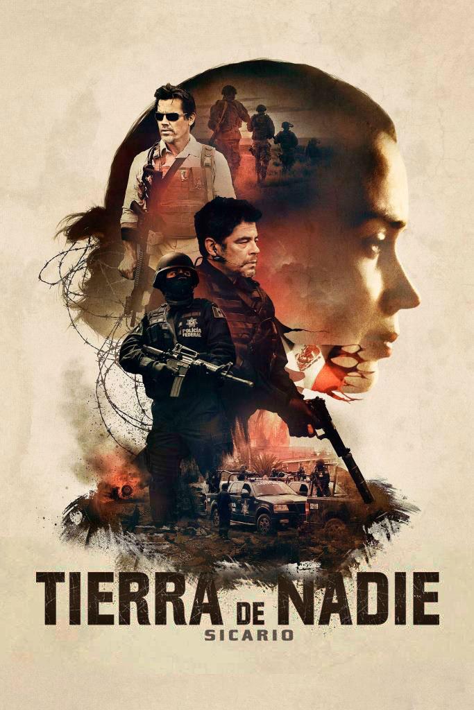 Tierra de nadie: Sicario (2015) HD 1080p Latino