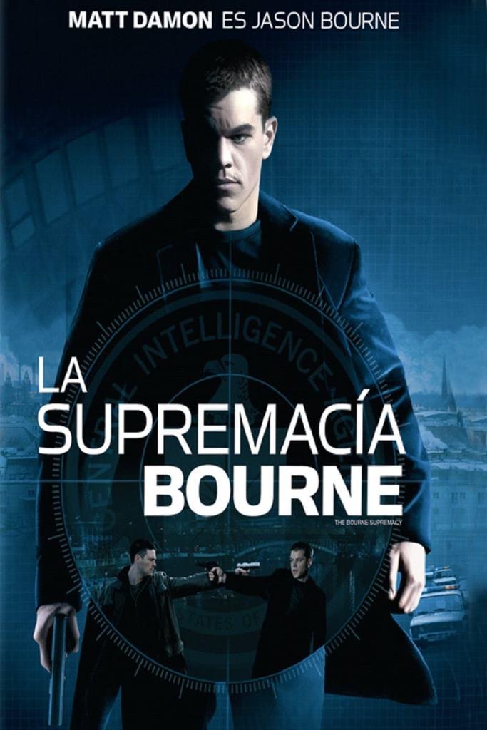 La supremacía Bourne (2004) HD 1080p Latino
