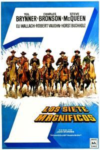 Los siete magníficos (1960) HD 1080p Latino