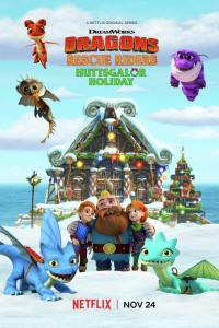 Dragones: Equipo de rescate – Felices fiestas en Huttsgalor (2020) HD 1080p Latino