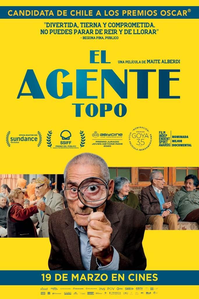 El agente topo (2020) HD 1080p Latino