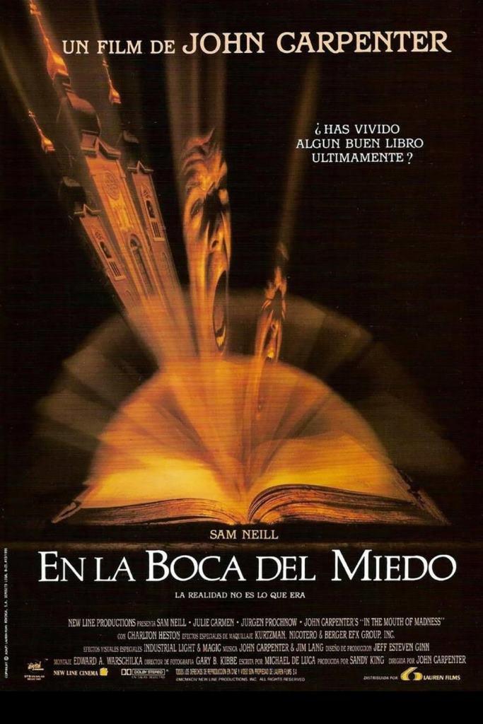 En la boca del miedo (1995) HD 1080p Latino