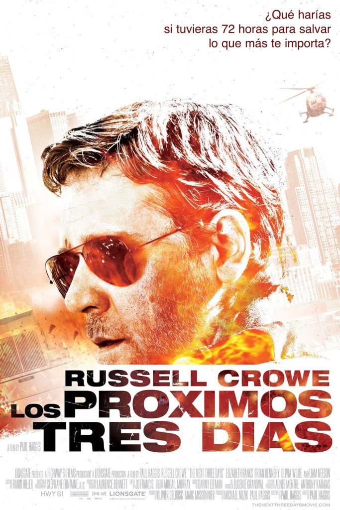 Los próximos tres días (2010) HD 1080p Latino