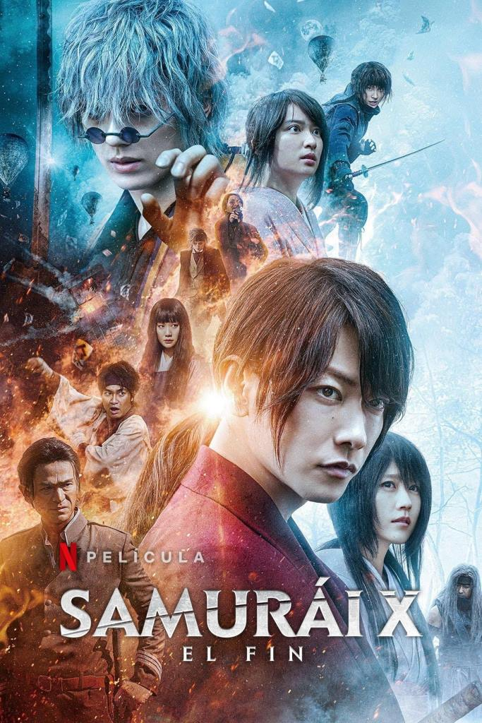 Kenshin, el guerrero samurái: El final (2021) HD 1080p Latino